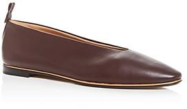 Bottega Veneta Women's Almond-Toe Flats