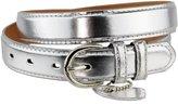 Nyfashion101 Women's Basic Leather Dressy Belt w/ Round Buckle H001-L