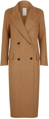 Sandro Wool Double-Breasted Coat