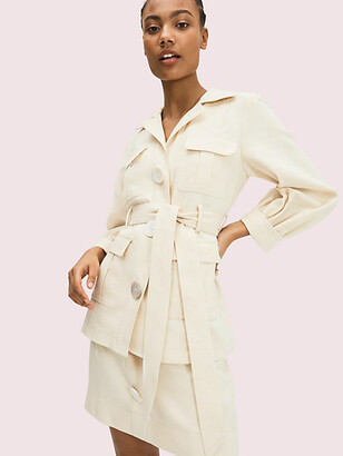 Kate Spade Luxe Twill Jacket