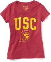Old Navy NCAA® Graphic V-Neck Tee for Girls
