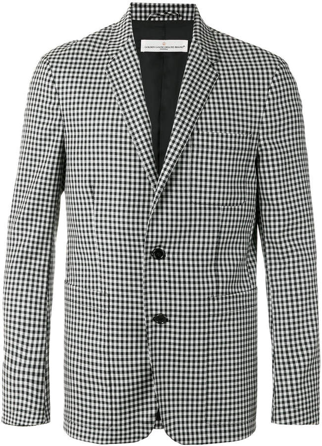 Golden Goose Deluxe Brand checked blazer