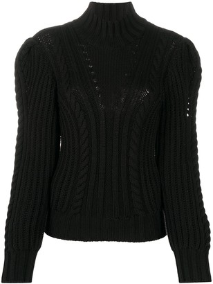 Dondup Roll Neck Chunky Knit Jumper