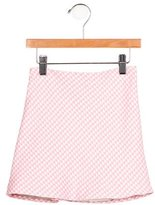 Helena Girls' Houndstooth Pattern Skirt