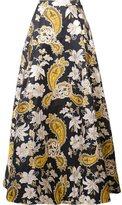 Alice + Olivia Alice+Olivia - floral pattern skirt - women - Nylon/Polyester - 2