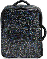 "Vera Bradley 20"" Printed Foldable Carry-On Rolling Suitcase"