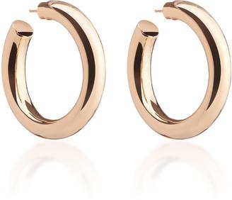 Jennifer Fisher Baby Jamma 14K Rose Gold-Plated Hoop Earrings