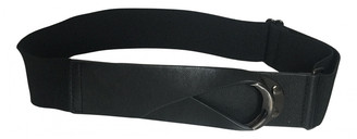 BCBGMAXAZRIA Black Leather Belts