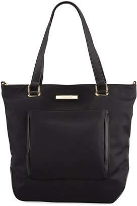 Calvin Klein Nylon Top-Zip Tote Bag