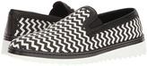 Dolce & Gabbana Chevron Print Walking Shoe