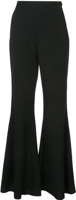 Rosetta Getty bell bottom trousers