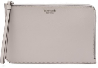 Kate Spade Leather Cameron Large L-Zip Wristlet