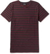 A.p.c. - Slim-fit Striped Cotton-jersey T-shirt