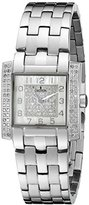 Croton Women's CN207407SSDI Ballroom Analog Display Swiss Quartz Silver Watch