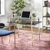 Geri Mid-Century Glass Desk Mercer41