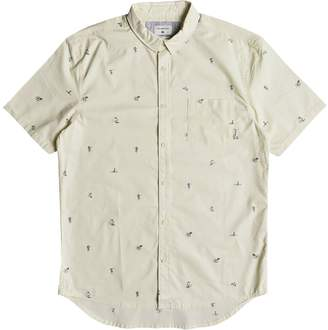 Quiksilver Mini Kamakura Short-Sleeve Shirt - Men's