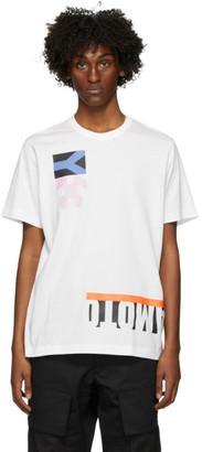 Y-3 White Graphic T-Shirt