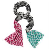 Multicolor Mandalay Wool Scarf by Matthew Williamson