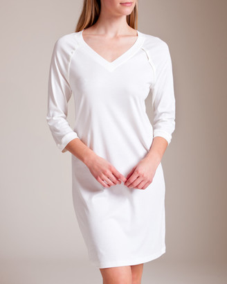Hanro Pure Essence Sleeve Gown