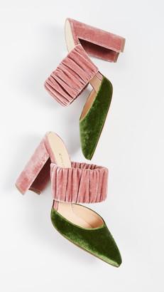 Chloe Gosselin Kiera Bi-Color Pointed Mules