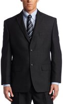 Haggar Men's Big & Tall Tonal-Windowpane Plaid Suit Separate Jacket