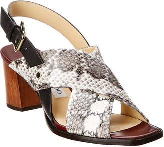 Jimmy Choo Aix 65 Leather Sandal