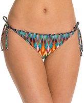 Kenneth Cole Upon The Horizon Reversible Tie Side Bikini Bottom 8123538