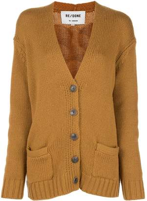 RE/DONE chunky knit cardigan