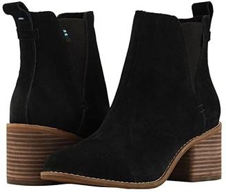 Toms Esme (Black Suede) Women's Boots