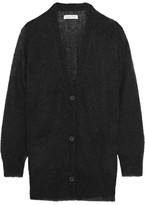 Etoile Isabel Marant Clawson Mohair-blend Cardigan - Black