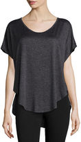 Beyond Yoga Scalloped Jersey Tee