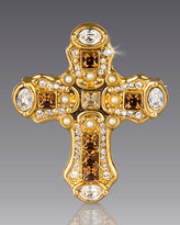 Jay Strongwater Medieval Cross Pin