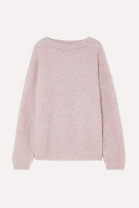 Acne Studios Dramatic Knitted Sweater - Lilac