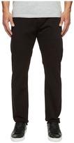 Jean Shop Mick Slim Straight in Jet Black Selvedge Men's Jeans