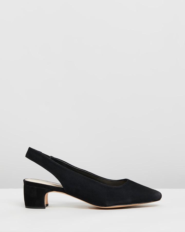 Atmos & Here Bobbi Leather Heels