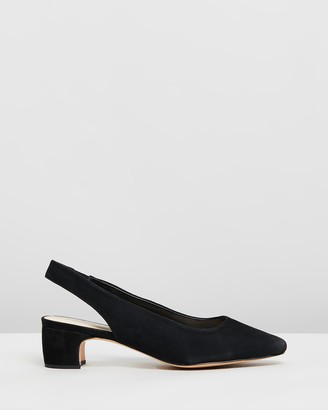 Atmos & Here Bobbi Leather Heels