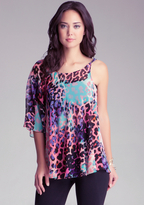 Bebe Twisted Asymmetric Tunic