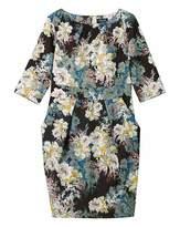 Closet Floral Tie Back Dress
