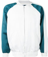 H Beauty&Youth contrast bomber jacket - men - Triacetate - S