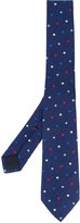 Gucci bee embroidered tie - men - Silk/Polyester - One Size