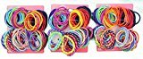 Goody Girls Ouchless Mixed Weave Elastics 60 Count (Pack of 3)