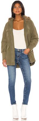 BB Dakota JACK by Call Of The Wild Faux Fur Trim Jacket