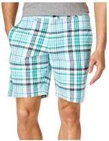 Club Room Mens Andre Plaid Casual Walking Shorts