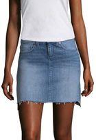 Vineyard Vines Hi-Lo Denim Mini Skirt