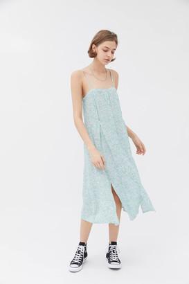 Little Lies Daisy Button-Front Midi Dress