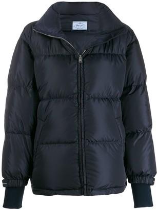 Prada padded nylon jacket
