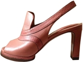 Chloé Pink Leather Heels