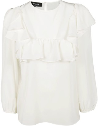 Rochas Frilled Blouse