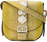 Etro embellished buckle bag - women - Leather - One Size