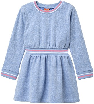 Joe Fresh Long Sleeve Tunic Dress (Toddler & Little Girls)